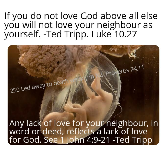 Love God and your neighbour