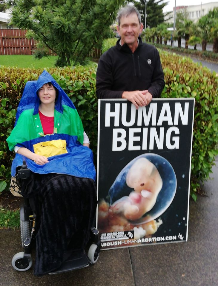 rain-human being